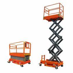 Scissor Lift Work Platform Hydraulic Manual And Self Propelled