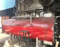 Gas Fired 500-1000 kg/hr Waste Heat Recovery Boilers IBR Approved