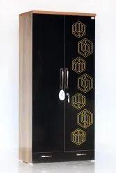 2 Doors Star Wardrobe CNC HG 36 X 20 X 78, With Locker