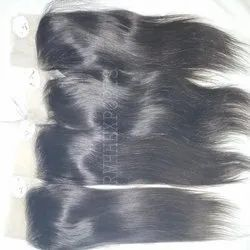 Raw Virgin Lace Closure with Bundles Remy Human Hair