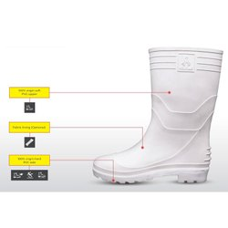 Welcome White Hillson Safety Shoes