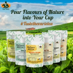 Tea Yard Herbal Green Tea (50g)