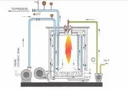 Oil & Gas Fired 200,000 kcal/h Hot Water Boiler