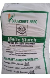 Maize Starch Powder, For Food, Packaging Size: 50kg