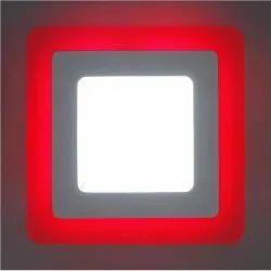 D'Mak 6 Watt Square Double Color LED Conceal Panel