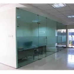Frameless Glass Partition And Door
