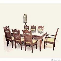 Carved Dining Set