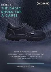 Ecosafe Derby B Safety Shoes