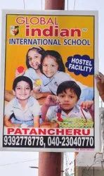 Paper Pole Sign Board Printing Services, in Pan India