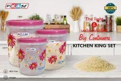 Plastic Kitchen Storage Container Set