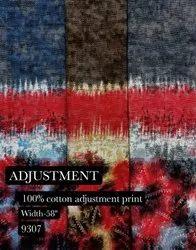 Adjustment 100% Cotton Print Shirting Fabric