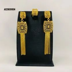 Beautiful Indian Jewelry Gold Plated Earrings