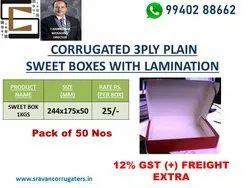 Printed Corrugated Sweets Box