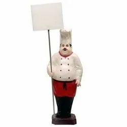 Welcome Chef Statue