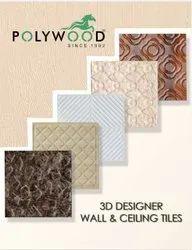 Multicolor 595x595 PVC Designer Tiles, For Indoor