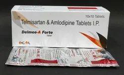 Telmisartan 80mg+Amlodipine 5mg Tablets