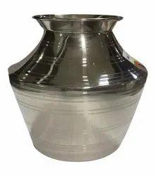 Striped Stainless Steel Water Lota, Capacity: 800ml, Grade: SS304