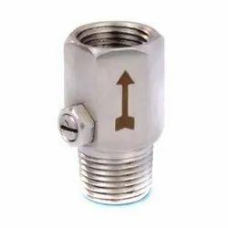 Pressure Gauge Snubber 1/2 inch NPT