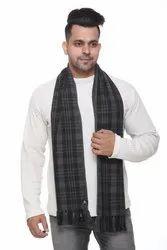 Men Woolen Check Scarves