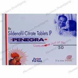 Penegra 50mg Tablets