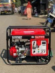 7.5 Kw Bajaj M Low Noise Petrol Portable Generator Set