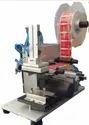Semi-Automatic Flat Bottle Labeling Machine