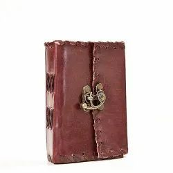 Small Single Latch Leather Journal Diary Notebook