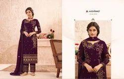 Aashirwad Heavy Gerogette Salwar Suit