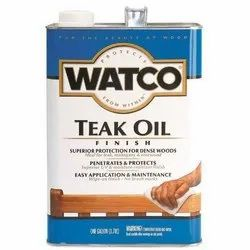Watco Teak Oil Exterior Wood Finishes 3.78 Ltr