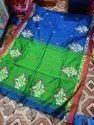 Embryodary Work Cotton Silk Saree