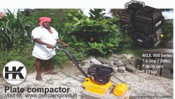 Earth Compactor / Plate Compactors Powered By Briggs And Stratton Engine