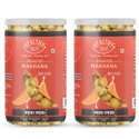 Healthy Treat Roasted Makhana- Peri Peri 140 gm (Pack of 2 jars-70 gm Each)