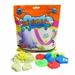 ToyPark Cotton Sand With Moulds (500 g.) (AT-101)
