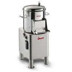 Sirman Potato Peeler Machine PPJ10SC Power:735 Watt-1 HP Output:170KG/H Cap.10 KG