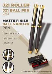 Matte Finish Roller & Ball Pen