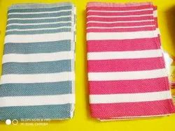 Multicolor Stripped Honeycomb Cotton Towels, 250-350 GSM, Size: 30 Inches X 60 Inches