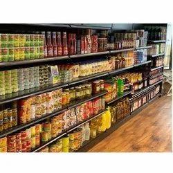 Metal Display Rack, For Supermarket
