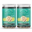 Healthy Treat Roasted Peanut - Lemon 400 Gm - Pack Of 2- 200 Gm Each