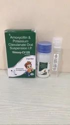 VIMOXY-CV DS,Amoxycillin-400 mg + Clavulanic Acid -57 mg