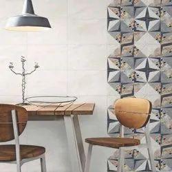 White Porcelain Morbi Ceramic Tiles, Size: 30  * 60 in cm, Thickness: 5-10 mm