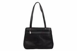 Holi Fashion Black Ladies Bag