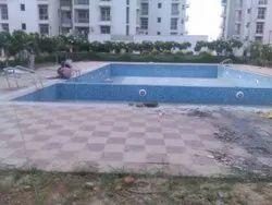天蓝色户外游泳池按摩浴缸,酒店/度假村,5