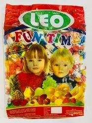 Round Leo Fun Time Dudh Malai Candy, Packaging Type: Packet