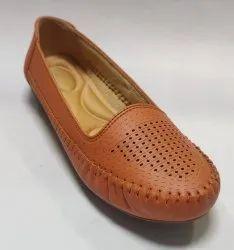 Polka Women Ladies Flat Shoe Belly, Size: 36-42