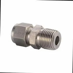Stainless Steel 316 Tube Connector BSP