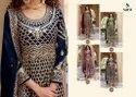 Sara Trendz Georgette With Embroidery Suit