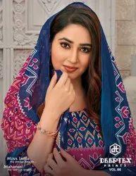 Deeptex Miss India Vol 66 Cotton Printed Dress
