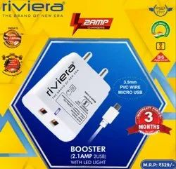 Ampere: 2.1 amp Riviera Mobile Charger Booster, Rivera