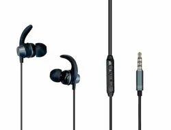 Ambrane Stringz 56 Wired Earphones (black)