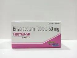 FROYAD-50 (Brivaracetam 50 mg Tablets)